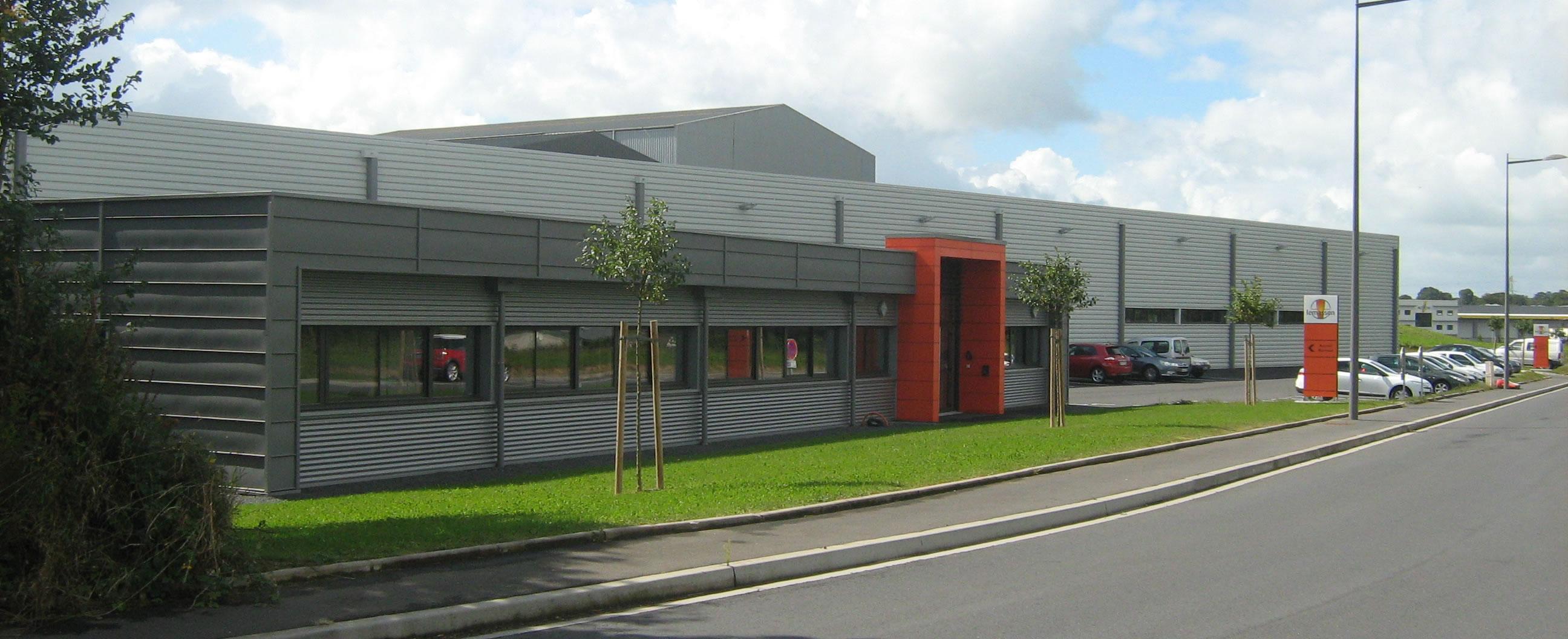 Produktionsstätte in Agneaux im Departement La Manche (Frankreich)