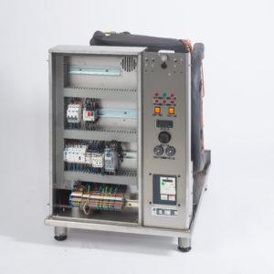 Elektrische Schalttafel der Wärmepumpe INDUS