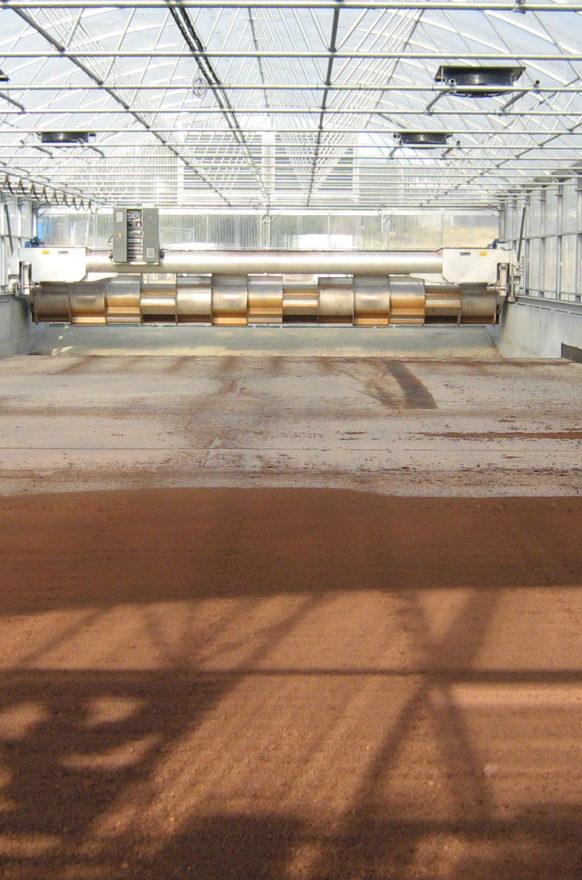 Trocknungssystem LEMASSON, Kläranlage in Barbezieux (Departement Charente)
