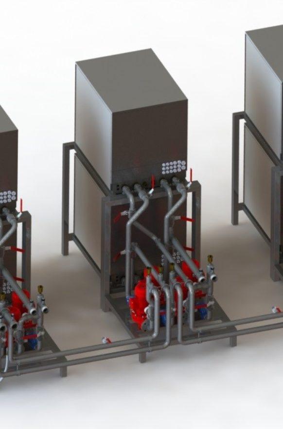 3D-Entwurf der Modularkonzeption Chartre